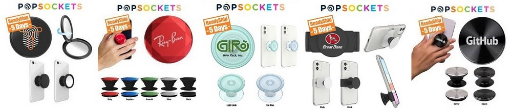 PopSockets w/ Your Business Logo